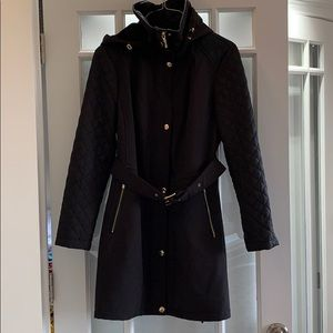 Michael Kors belted front trench coat
